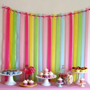 Fondos decorativos para fiestas