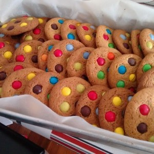Cookies de M&Ms (o lacasitos)