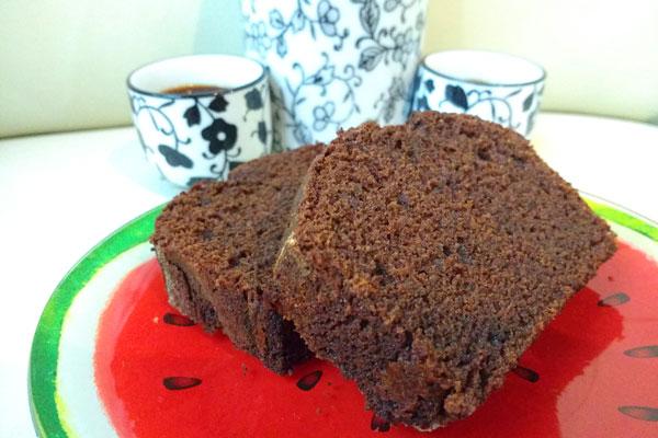 Bizcocho de algarroba, el sustituto del chocolate