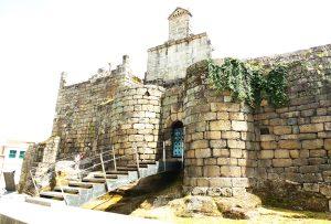 castillo de los sarmiento - vista exterior