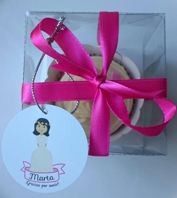 cupcake detalle comunión