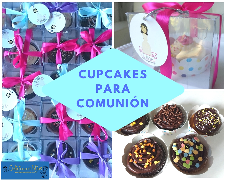 Cupcakes para comunión