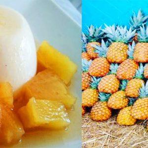 Pannacotta de coco y piña – más fàcil, más rica y más resultona que un flan de sobre