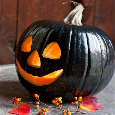 Inspiraciones para decorar calabazas para sama n o halloween - Calabazas de halloween pintadas ...