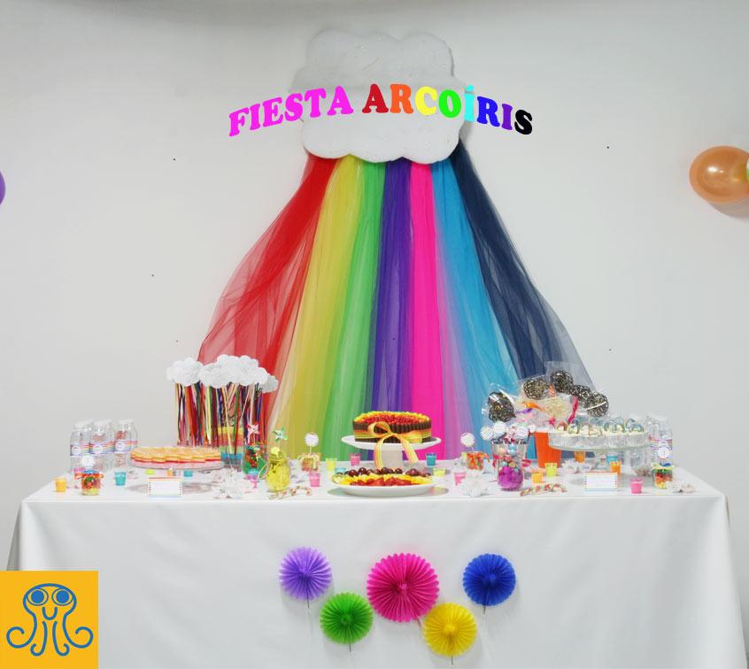 Cumpleaños arcoíris